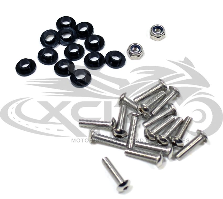 Fairing Bolts Kit Stainless Steel Honda Vfr800 2002 2012