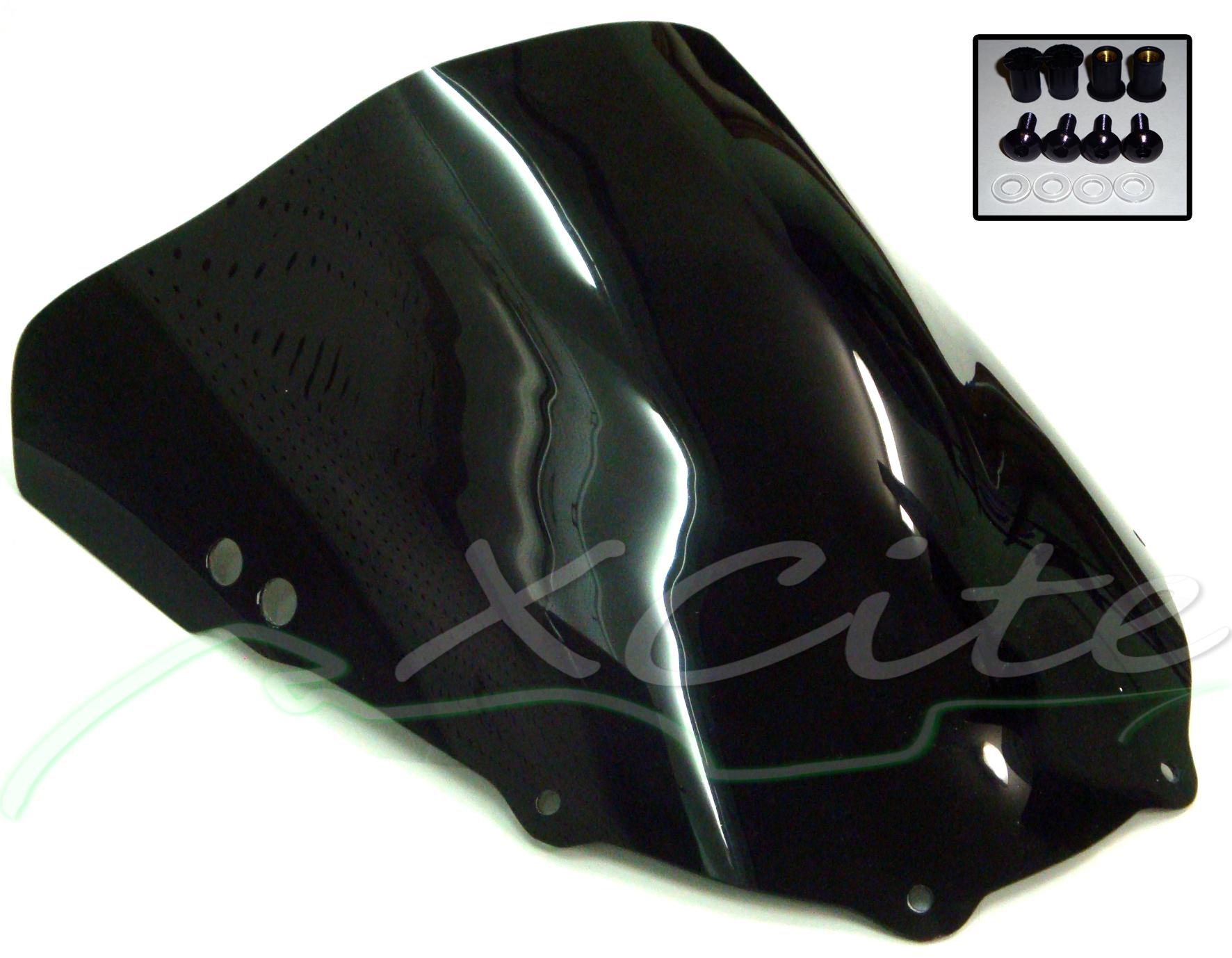 Double Bubble Windscreen Black Cbr250rr Cbr250 250rr Mc22 Free Tankpad Honda Cbr 250 Rr Original Categories